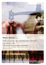 Bilanzanalyse Am Praktischen Beispiel Der Metro AG