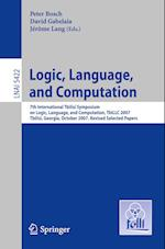 Logic, Language, and Computation (Lecture Notes in Computer Science: Lecture Notes in Artificial Intelligence, nr. 5422)