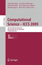 Computational Science - ICCS 2009 (Lecture Notes in Computer Science, nr. 5544)