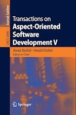 Transactions on Aspect-Oriented Software Development V (Lecture Notes in Computer Science, nr. 5490)
