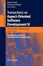 Transactions on Aspect-Oriented Software Development VI (Lecture Notes in Computer Science)