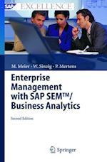 Enterprise Management with SAP SEM/ Business Analytics af Peter Mertens, Marco Meier, Werner Sinzig