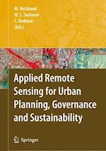 Applied Remote Sensing for Urban Planning, Governance and Sustainability
