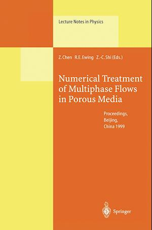 Numerical Treatment of Multiphase Flows in Porous Media : Proceedings of the International Workshop Held at Beijing, China, 2-6 August 1999