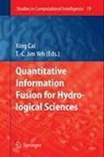 Quantitative Information Fusion for Hydrological Sciences (Studies in Computational Intelligence, nr. 79)