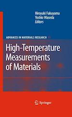 High-Temperature Measurements of Materials (Advances in Materials Research, nr. 11)