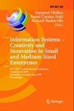Information Systems - Creativity and Innovation in Small and Medium-Sized Enterprises (Ifip Advances in Information and Communication Technology, nr. 301)