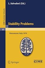 Stability Problems (Cime Summer Schools)