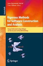 Rigorous Methods for Software Construction and Analysis (Lecture Notes in Computer Science)