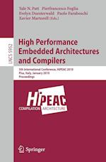 High Performance Embedded Architectures and Compilers (Lecture Notes in Computer Science, nr. 5952)
