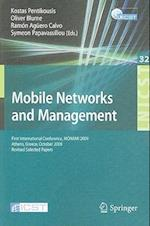 Mobile Networks and Management (Lecture Notes of the Institute for Computer Sciences Social Informatics and Telecommunications, nr. 32)