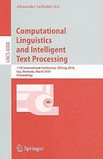 Computational Linguistics and Intelligent Text Processing (Lecture Notes in Computer Science, nr. 6008)