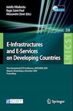 E-Infrastructures and E-Services on Developing Countries (Lecture Notes of the Institute for Computer Sciences, Social Informatics and Telecommunications Engineering, nr. 38)
