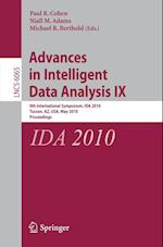 Advances in Intelligent Data Analysis (Lecture Notes in Computer Science / Information Systems and Applications, Incl. Internet/web, and Hci, nr. 6065)