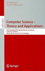 Computer Science - Theory and Applications (Lecture Notes in Computer Science, nr. 6072)