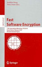 Fast Software Encryption (Lecture Notes in Computer Science / Security and Cryptology, nr. 6147)