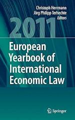 European Yearbook of International Economic Law af Jorg Philipp Terhechte, Christoph Herrmann