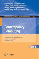 Contemporary Computing af Sanjay Ranka, Kanad Kishore Biswas, Arunava Banerjee