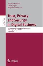 Trust, Privacy and Security in Digital Business (Lecture Notes in Computer Science / Security and Cryptology, nr. 6264)