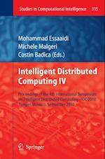 Intelligent Distributed Computing IV (Studies in Computational Intelligence)