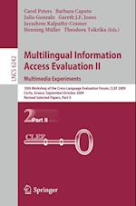 Multilingual Information Access Evaluation II - Multimedia Experiments (Lecture Notes in Computer Science, nr. 6242)