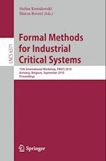 Formal Methods for Industrial Critical Systems (Lecture Notes in Computer Science)