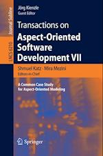 Transactions on Aspect-Oriented Software Development VII (Lecture Notes in Computer Science)