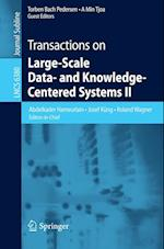 Transactions on Large-Scale Data- and Knowledge-Centered Systems II (Lecture Notes in Computer Science, nr. 6380)