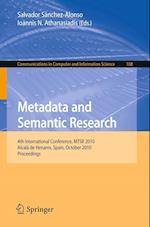 Metadata and Semantic Research (Communications in Computer and Information Science, nr. 108)