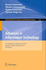 Advances in Information Technology (Communications in Computer and Information Science)