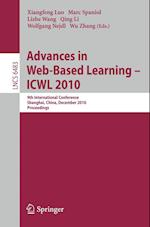 Advances in Web-Based Learning - ICWL 2010 (Lecture Notes in Computer Science, nr. 6483)