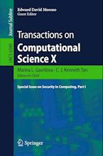 Transactions on Computational Science X (Lecture Notes in Computer Science, nr. 6340)