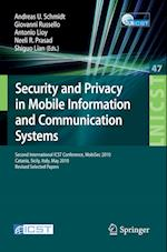 Security and Privacy in Mobile Information and Communication Systems (Lecture Notes of the Institute for Computer Sciences, Social Informatics and Telecommunications Engineering)