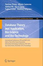Database Theory and Application, Bio-Science and Bio-Technology (Communications in Computer and Information Science, nr. 118)