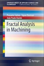 Fractal Analysis in Machining af J. Paulo Davim