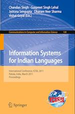 Information Systems for Indian Languages (Communications in Computer and Information Science, nr. 139)