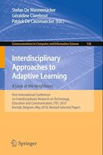 Interdisciplinary Approaches to Adaptive Learning (Communications in Computer and Information Science)