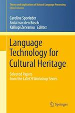 Language Technology for Cultural Heritage (Theory and Applications of Natural Language Processing)