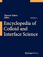 Encyclopedia of Colloid and Interface Science (Encyclopedia of Colloid and Interface Science)