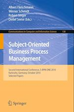 Subject-Oriented Business Process Management (Communications in Computer and Information Science)