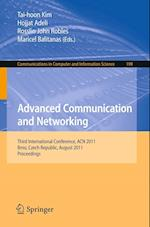 Advanced Communication and Networking (Communications in Computer and Information Science, nr. 199)