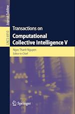 Transactions on Computational Collective Intelligence V (Lecture Notes in Computer Science)
