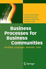 Business Processes for Business Communities af Gottfried Vossen, Andreas Oberweis, Frank Schonthaler