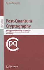 Post-Quantum Cryptography (Lecture Notes in Computer Science / Security and Cryptology, nr. 7071)