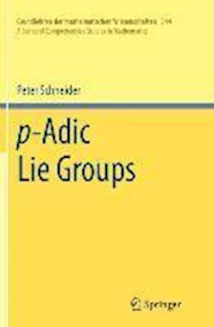 P-Adic Lie Groups
