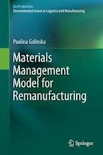 Materials Management Model for Remanufacturing (Ecoproduction)