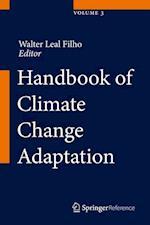 Handbook of Climate Change Adaptation af Walter Leal Filho