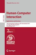 Human-Computer Interaction: Applications and Services af Masaaki Kurosu