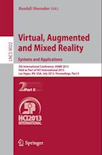 Virtual, Augmented and Mixed Reality: Systems and Applications (Lecture Notes in Computer Science)