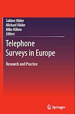 Telephone Surveys in Europe af Sabine Hader
